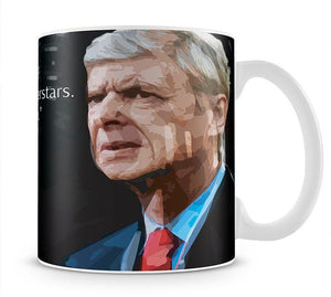 Arsene Wenger Superstars Mug - Canvas Art Rocks - 1