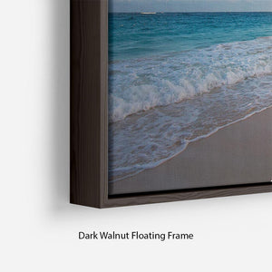 Art Beautiful sunrise Floating Frame Canvas - Canvas Art Rocks - 6
