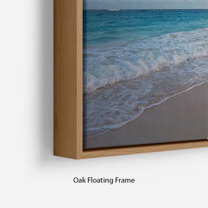 Art Beautiful sunrise Floating Frame Canvas - Canvas Art Rocks - 10