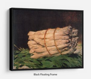 Asperagus by Manet Floating Frame Canvas