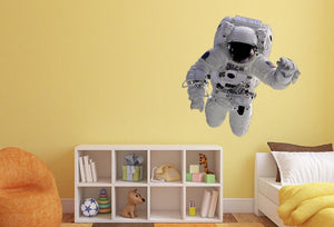 Astronaut Wall Sticker - Canvas Art Rocks