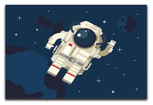 Astronaut in outer space concept vector Canvas Print or Poster  - Canvas Art Rocks - 1