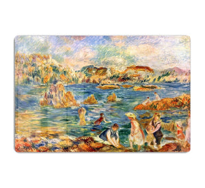 At the beach of Guernesey by Renoir HD Metal Print