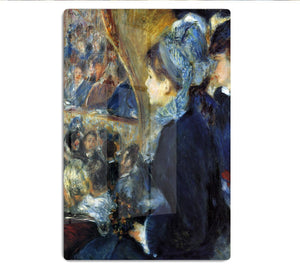 At the theatre by Renoir HD Metal Print
