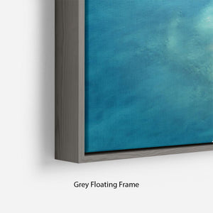 Atoll Floating Frame Canvas - Canvas Art Rocks - 4