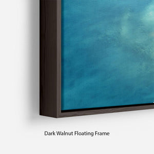 Atoll Floating Frame Canvas - Canvas Art Rocks - 6
