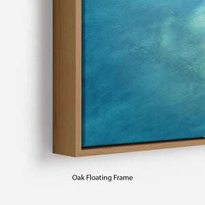 Atoll Floating Frame Canvas - Canvas Art Rocks - 10