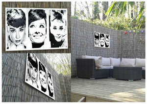 Audrey Hepburn Metal Print - Canvas Art Rocks - 2