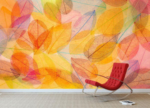 Autumn background Wall Mural Wallpaper - Canvas Art Rocks - 2