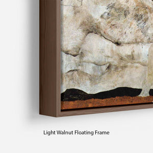 Autumn tree in the wind Egon Schiele Floating Frame Canvas - Canvas Art Rocks - 8