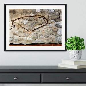 Autumn tree in the wind Egon Schiele Framed Print - Canvas Art Rocks - 1