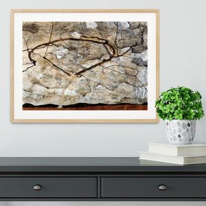 Autumn tree in the wind Egon Schiele Framed Print - Canvas Art Rocks - 3