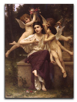 Ave de printemps By Bouguereau Canvas Print or Poster  - Canvas Art Rocks - 1