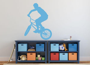 BMX Wall Sticker - Canvas Art Rocks