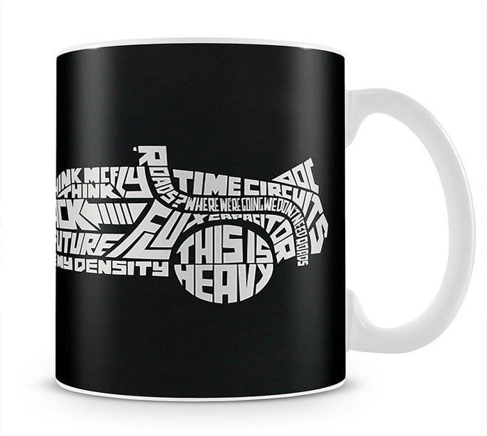 Back To The Future Car Quote Mug