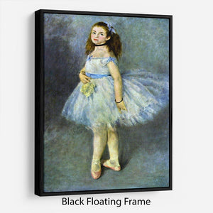 Ballet Dancer by Renoir Floating Frame Canvas