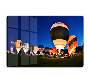 Balloons at night HD Metal Print - Canvas Art Rocks - 1