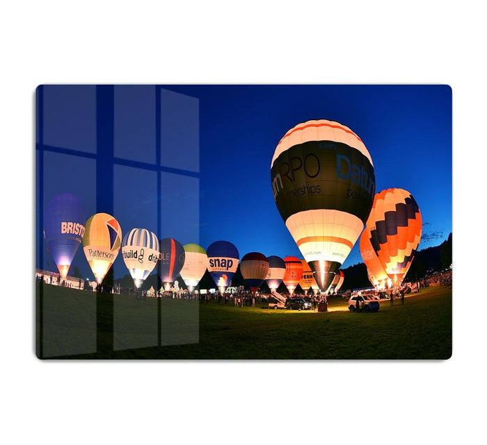 Balloons at night HD Metal Print