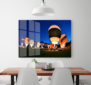 Balloons at night HD Metal Print - Canvas Art Rocks - 2