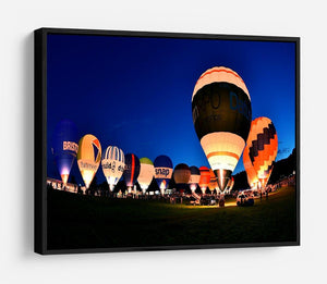 Balloons at night HD Metal Print - Canvas Art Rocks - 6