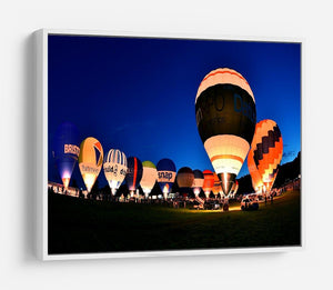 Balloons at night HD Metal Print - Canvas Art Rocks - 7