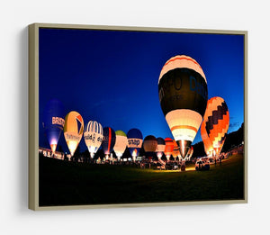 Balloons at night HD Metal Print - Canvas Art Rocks - 8