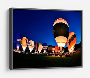 Balloons at night HD Metal Print - Canvas Art Rocks - 9