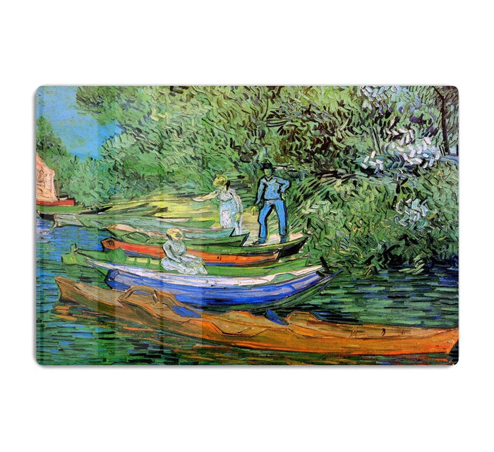 Bank of the Oise at Auvers by Van Gogh HD Metal Print