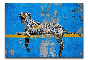 Banksy Cheetah Print - Canvas Art Rocks - 1