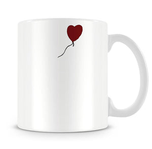 Banksy Balloon Heart Girl Mug - Canvas Art Rocks