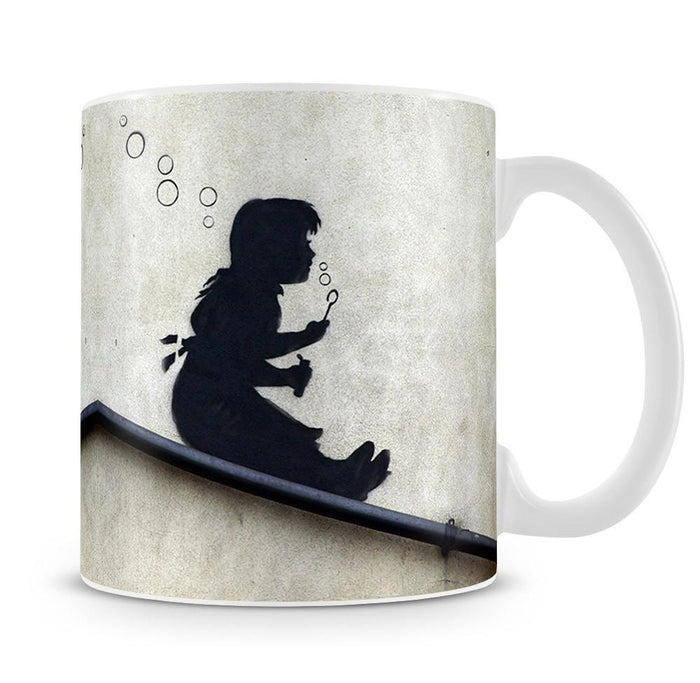 Banksy Bubble Slide Girl Mug