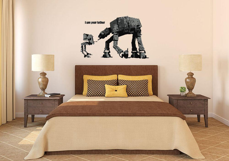 Banksy I Am Your Father Wall Sticker - Canvas Art Rocks