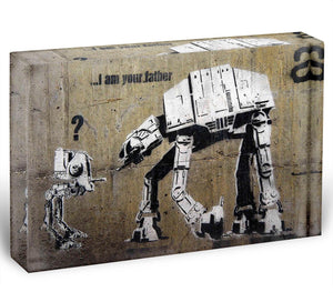 Banksy Star Wars Acrylic Block - Canvas Art Rocks - 1