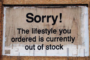 Banksy The Lifestyle You Ordered Wall Mural Wallpaper - Canvas Art Rocks - 1