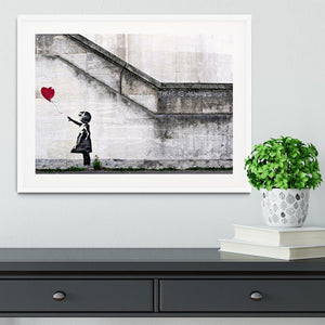 Banksy There is Always Hope Framed Print - Canvas Art Rocks - 5
