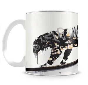 Banksy Tiger Mug - Canvas Art Rocks - 2