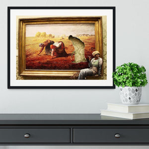 Banksy Time Out Framed Print - Canvas Art Rocks - 1