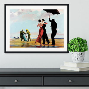 Banksy Toxic Beach Framed Print - Canvas Art Rocks - 1