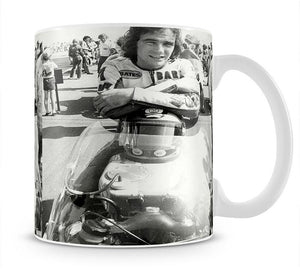 Barry Sheene motorcycle racing champion Mug - Canvas Art Rocks - 1