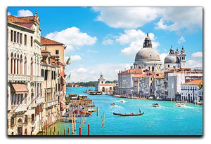 Basilica di Santa Maria della Salute Canvas Print or Poster  - Canvas Art Rocks - 1