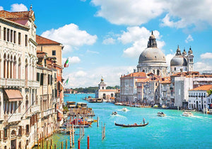 Basilica di Santa Maria della Salute Wall Mural Wallpaper - Canvas Art Rocks - 1