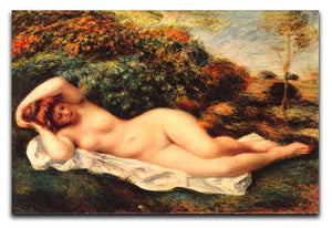 Bathing sleeping the baker by Renoir Canvas Print or Poster  - Canvas Art Rocks - 1