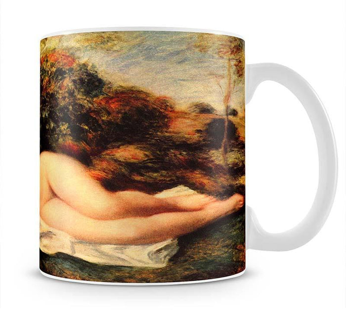 Bathing sleeping the baker by Renoir Mug