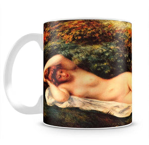 Bathing sleeping the baker by Renoir Mug - Canvas Art Rocks - 2