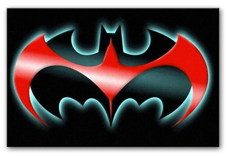 Batman Symbol Print - Canvas Art Rocks
