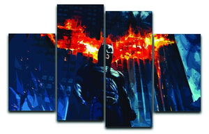 Batman 4 Split Panel Canvas  - Canvas Art Rocks - 1