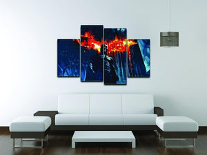 Batman 4 Split Panel Canvas - Canvas Art Rocks - 3