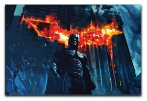 Batman Print - Canvas Art Rocks - 1