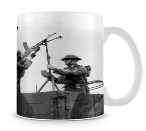 Battalion with anti-aircraft guns Mug - Canvas Art Rocks - 1