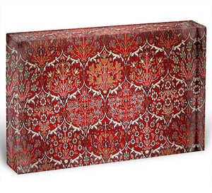 Beautiful turkish carpet Acrylic Block - Canvas Art Rocks - 1